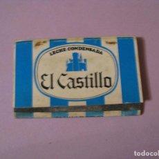 Cajas de Cerillas: CAJA DE CERILLAS. LECHE CONDENSADA EL CASTILLO. . Lote 113364647