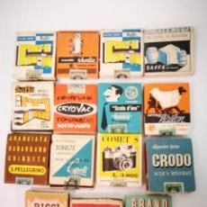 Cajas de Cerillas: 15 CAJAS DE CERILLAS ITALIANAS ANTIGUAS. Lote 114354719