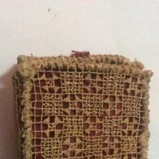 Cajas de Cerillas: CAJA DE CERILLAS HECHA A MANO SIGLO XIX . Lote 114394891