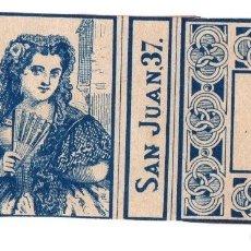 Cajas de Cerillas: CAJA ANTIGUA DE CERILLAS LA ABEJA. MALAGA. Nº 6. Lote 114972924
