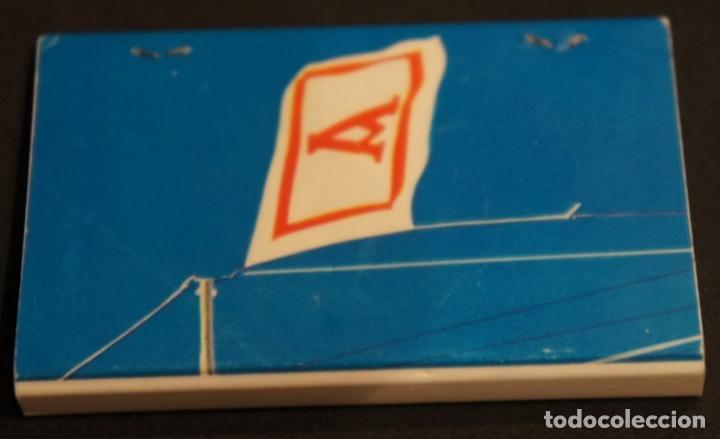 Cajas de Cerillas: Caja de cerillas publicidad Naviera Aznar Aznar Line. Fosforera Española. Años 70 - Foto 2 - 115215591