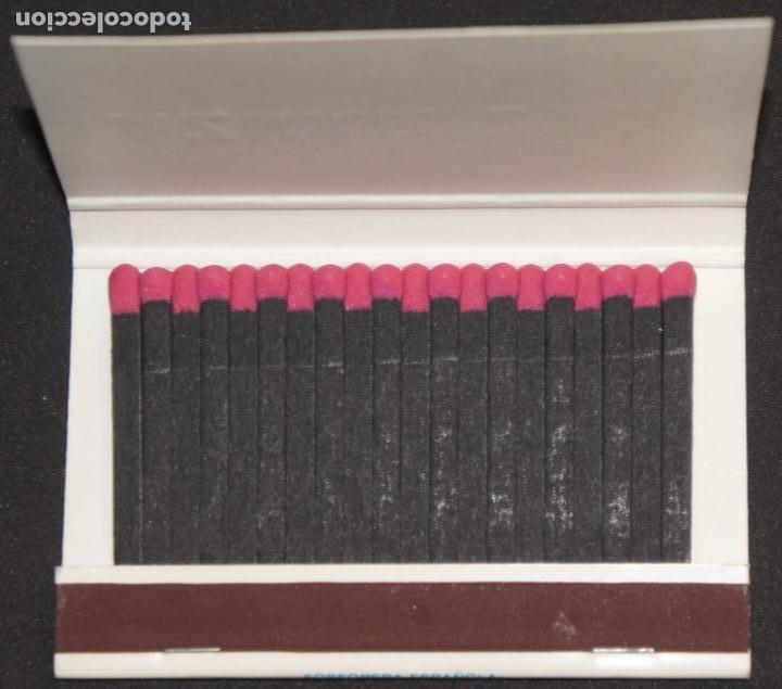 Cajas de Cerillas: Caja de cerillas publicidad Naviera Aznar Aznar Line. Fosforera Española. Años 70 - Foto 5 - 115215591