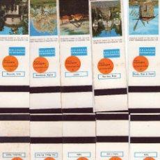 Cajas de Cerillas: 269 -COLECCION COMPLETA DE 36 CAJAS/ESTUCHES DE CERILLAS NUEVOS Y VACIOS. Lote 115480987