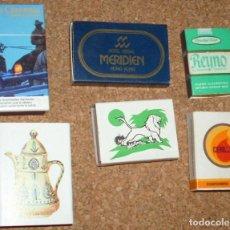 Cajas de Cerillas: CAJAS DE CERILLAS RARAS LOTE DE 6 - TODAS CON SUS CERILLAS- VER FOTOS -L 2. Lote 115884155