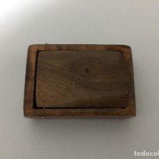 Cajas de Cerillas: CAJA DE CERILLAS DE MADERA DE OLIVO. Lote 116856979