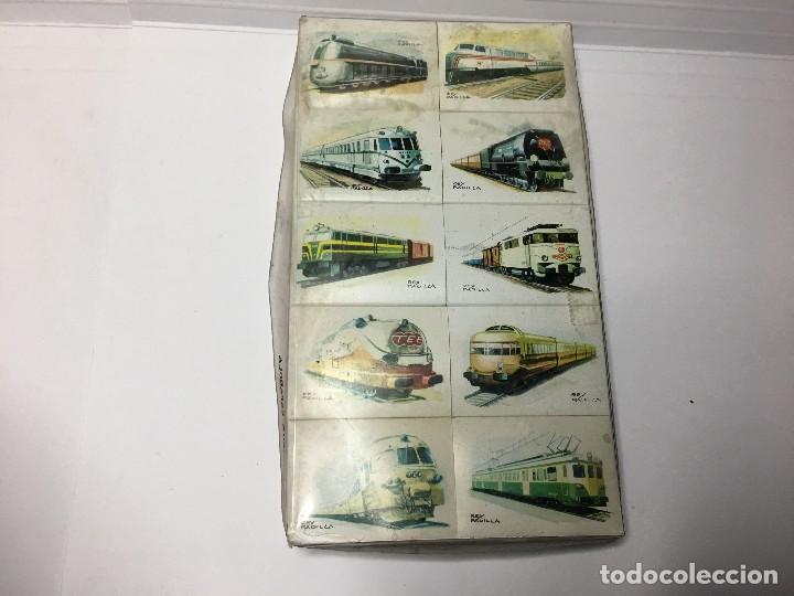 Cajas de Cerillas: COLECCION COMPLETA CAJA DE CERILLAS DE TRENES DE RENFE - FOSFORERA ESPAÑOLA - Foto 2 - 116959803