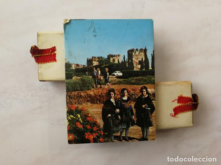 Cajas de Cerillas: DOBLE CAJA CERILLAS DECORATIVA, VISTAS TURÍSTICAS DE BADAJOZ, AÑOS 60 (VER FOTOS) - Foto 4 - 117029127