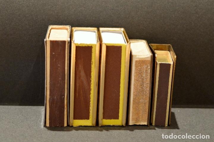 Cajas de Cerillas: LOTE COLECCION DE 5 CERILLEROS FUNDA CERILLERO PORTA CAJA CERILLAS BRONCE Y LATÓN - Foto 4 - 59833164