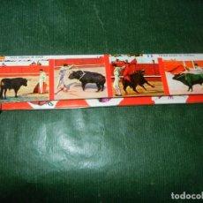 Cajas de Cerillas: CAJA DE CERILLAS EXTRA LARGA 23 CM - TOROS - FAB. SAVIR AÑOS 1970. Lote 118145603