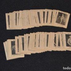 Cajas de Cerillas: VINTAGE - 80 FOTOTIPIAS - CROMOS CAJAS CERILLAS - MUSEO NACIONAL SER. A - COMPLETA - PRINCIPIOS 1900. Lote 118945511