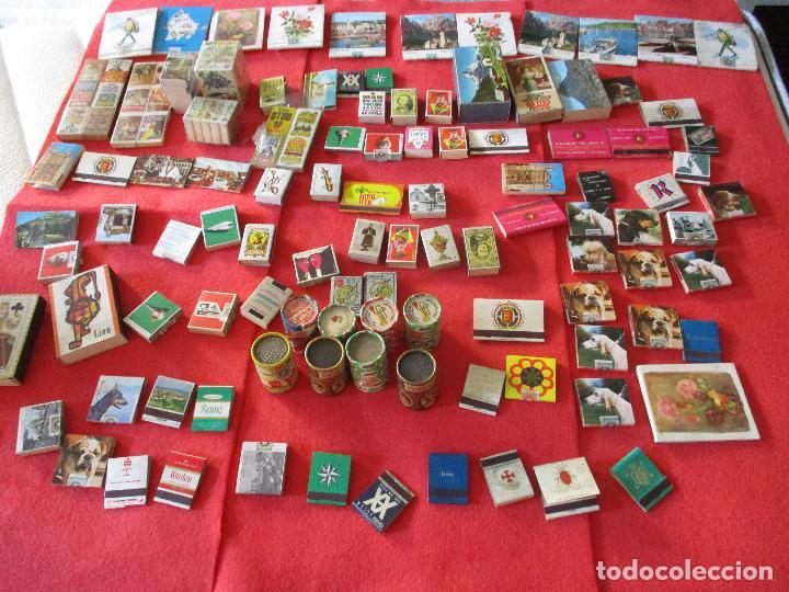 CAJAS DE CERILLAS, ANTIGUAS. (Coleccionismo - Objetos para Fumar - Cajas de Cerillas)