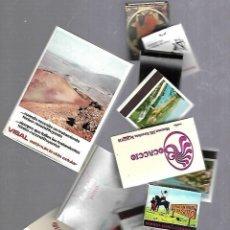 Cajas de Cerillas: LOTE DE 88 CAJAS DE CERILLAS PUBLICITARIAS DE MARCAS VARIAS. VER FOTOS. Lote 119085067