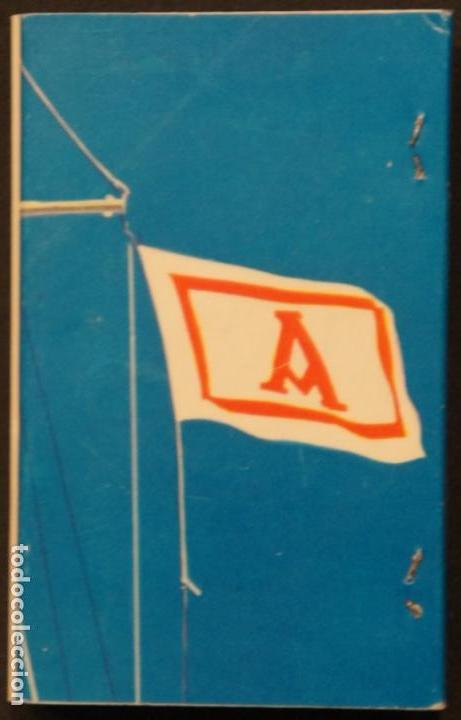 CAJA DE CERILLAS PUBLICIDAD NAVIERA AZNAR AZNAR LINE. FOSFORERA ESPAÑOLA. AÑOS 70 (Coleccionismo - Objetos para Fumar - Cajas de Cerillas)