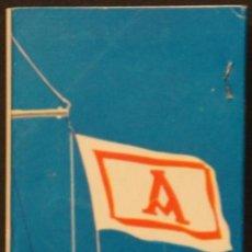 Cajas de Cerillas: CAJA DE CERILLAS PUBLICIDAD NAVIERA AZNAR AZNAR LINE. FOSFORERA ESPAÑOLA. AÑOS 70. Lote 115215591