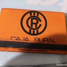 Cajas de Cerillas - CERILLAS CAJA RURAL - 119725727