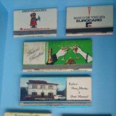 Cajas de Cerillas: LOTE 6 CAJAS DE CERILLAS VINTAGE. Lote 121237575