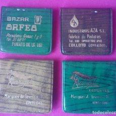 Cajas de Cerillas: LOTE 4 CAJAS DE CERILLAS VINTAGE FUNDAS DE PLÁSTICO . Lote 121239895