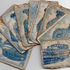 Cajas de Cerillas: TOREROS EN PANELES DE CAJAS DE CERILLAS GREMIO DE FABRICANTES SIGLO XIX. Lote 122109987