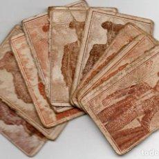 Cajas de Cerillas: TOREROS EN PANELES DE CAJAS DE CERILLAS GREMIO DE FABRICANTES SIGLO XIX. Lote 122110027