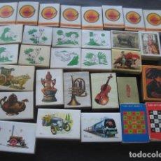 Cajas de Cerillas: 31 CAJAS DE CERILLAS VARIADAS. CAJAS VACIAS. Lote 124312203