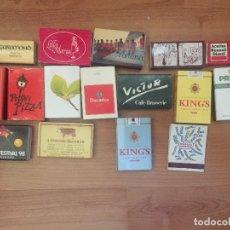 Cajas de Cerillas: 16 CAJAS DE CERILLAS DIFERENTES. Lote 124518523
