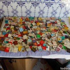 Cajas de Cerillas: LOTE DE 350 CAJAS DE CERILLAS CON PUBLICIDADES. Lote 124701859