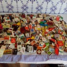 Cajas de Cerillas: LOTE DE 400 CAJAS DE CERILLAS CON PUBLICIDADES. Lote 124702864