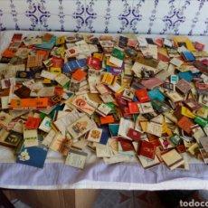 Cajas de Cerillas: LOTE DE 450 CAJAS DE CERILLAS CON PUBLICIDADES. Lote 124708052