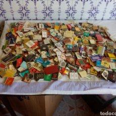 Cajas de Cerillas: LOTE DE 500 CAJAS DE CERILLAS CON PUBLICIDADES. Lote 124708772