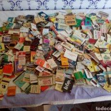 Cajas de Cerillas: LOTE DE 365 CAJAS DE CERILLAS CON PUBLICIDADES. Lote 124710480