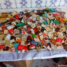 Cajas de Cerillas: LOTE DE 320 CAJAS DE CERILLAS CON PUBLICIDADES. Lote 124712848