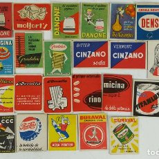 Cajas de Cerillas: COLECCION DE 31 CAJAS DE CERILLAS. PUBLICIDAD. FOSFORERA ESPAÑOLA. CIRCA 1950. . Lote 125037587