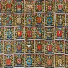 Cajas de Cerillas: COLECCIÓN 50 CROMOS. FOSFOROS DE PAPEL. HACIENDA PÚBLICA CAF. AÑOS 50.. Lote 125454647