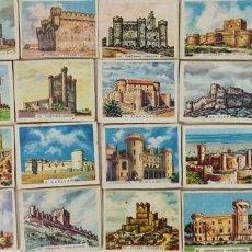 Cajas de Cerillas: COLECCIÓN DE 26 CAJAS DE CERILLAS. SERIE CASTILLOS DE ESPAÑA. CIRCA 1950. . Lote 126544979