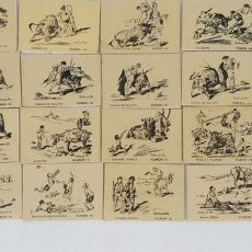 Cajas de Cerillas: COLECCION DE 27 CAJAS DE CERILLAS. SERIE TAURINA. MARTINEZ DE LEON. CIRCA 1950. . Lote 126547371