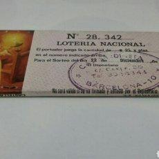 Cajas de Cerillas: CAJA CERILLAS CAL SARDINETA BARCELONA NUMERO LOTERIA NACIONAL 1983. Lote 127645528