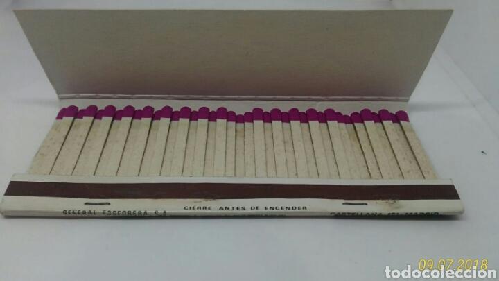 Cajas de Cerillas: CAJA CERILLAS CAL SARDINETA BARCELONA NUMERO LOTERIA NACIONAL 1983 - Foto 2 - 127645528