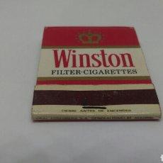 Cajas de Cerillas: CARTERITA DE CERILLAS TABACO WINSTON. Lote 127646060
