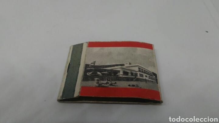 Cajas de Cerillas: CARTERITA DE CERILLAS ANTIGUO HOTEL QUIM GARRAF - Foto 2 - 127652250