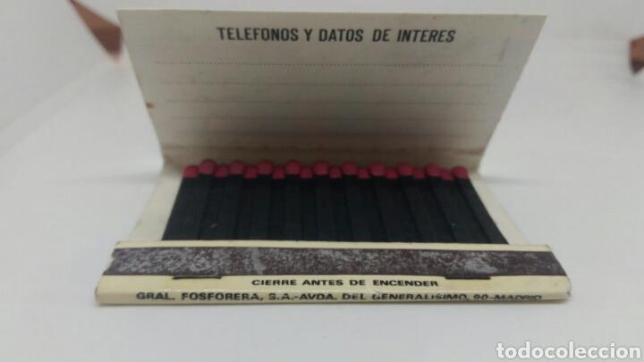 Cajas de Cerillas: CARTERITA DE CERILLAS DISCOTECA LAS VEGAS BARCELONA - Foto 3 - 127688062