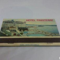 Cajas de Cerillas: CARTERITA DE CERILLAS ANTIGUA HOTEL FINISTERRE LA CORUÑA GALICIA. Lote 127688107