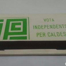 Cajas de Cerillas: CARTERITA CERILLAS VOTA INDEPENDENTS PER CALDES. Lote 127763955