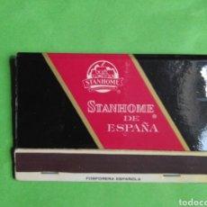 Cajas de Cerillas: CARTERITA DE CERILLAS STANHOME DE ESPAÑA. Lote 127882747