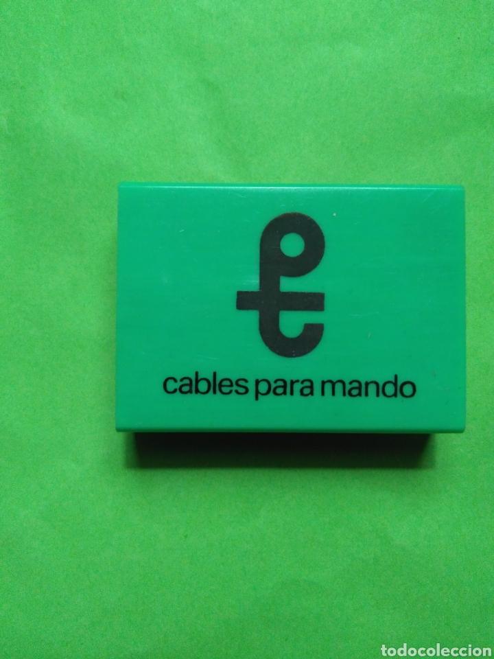 CAJA DE CERILLAS CABLES PARA MANDO (Coleccionismo - Objetos para Fumar - Cajas de Cerillas)