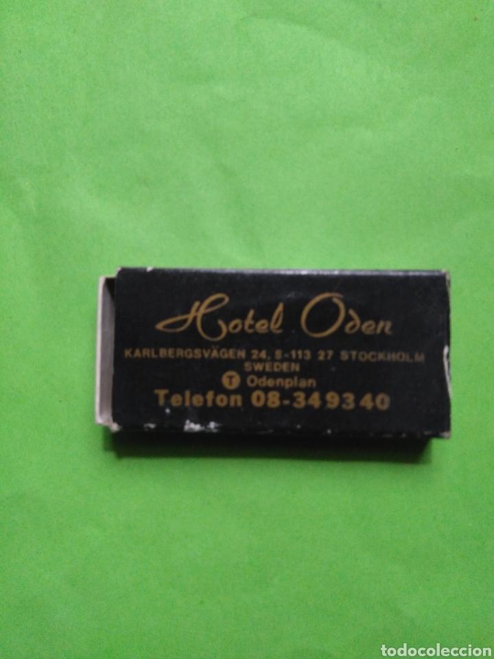 CAJA DE CERILLAS HOTEL ODEN (VACIO) (Coleccionismo - Objetos para Fumar - Cajas de Cerillas)