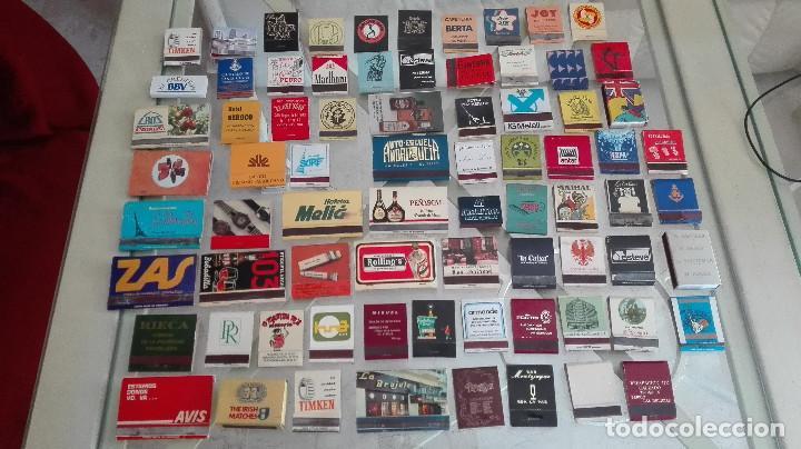 BONITA COLECCION 75 CAJAS DE CERILLAS ESPAÑOLAS AÑOS 70-80 DISCOTECAS HOTELES Y MAS (Coleccionismo - Objetos para Fumar - Cajas de Cerillas)