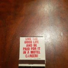 Cajas de Cerillas: VILLAS HOTEL MOTEL ESTADOUNIDENSE. Lote 128053584