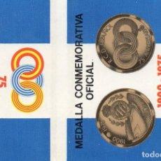 Cajas de Cerillas: CAJAS DE CERILLAS ESPAÑA 75º ANIVERSARIO RCD ESPAÑOL DE BARCELONA. Lote 128354311