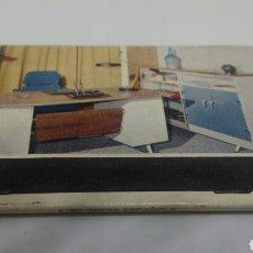 Cajas de Cerillas: CARTERITA DE CERILLAS MUEBLES VIVES PALENCIA. Lote 128356491