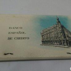 Cajas de Cerillas: CARTERITA DE CERILLAS BANCO ESPAÑOL DE CREDITO BANESTO. Lote 128357408